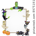 Halloween Sign Background 8975191