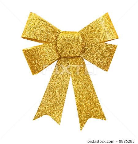 Golden bow 8985293