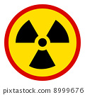 no Nuclear Sign on white 8999676