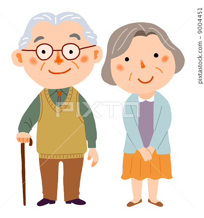 Senior couple 9004451