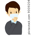 一個咳嗽的男人 9009204