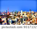 東京和東京鐵塔的建築物 9017132
