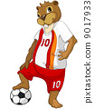 Cartoon Character Beaver 9017933