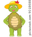 Funny Turtle. Wife. 9018688