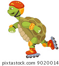 Funny Turtle. Roller. 9020014