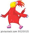 Funny Parrot. Roller. 9020015