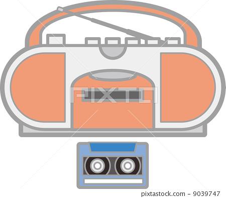 收放機 盒式磁帶 一 9039747