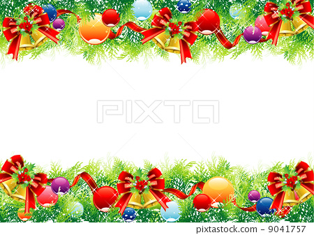 矢量圖 聖誕節期 聖誕時節 9041757