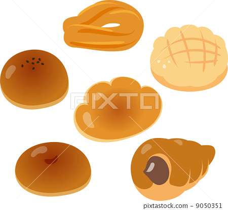 Basic Japanese sweet bread 9050351