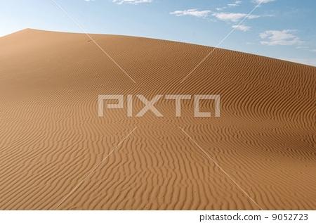 沙紋 在沙灘上的風鐵藝圖案 撒哈拉 9052723