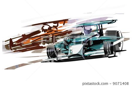 F1 car 9071408