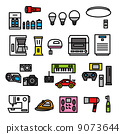 vector, household appliance, consumer electronic 9073644
