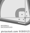 Baseball background 9086915