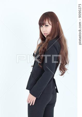 Business women pants suit 9090275