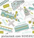 railway, retro, ride 9095992