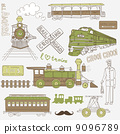ride, retro, railway 9096789