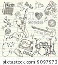 소리, 비닐, 배경 9097973