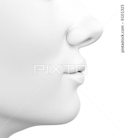 Female face 9101325