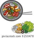 燒肉 韓國燒烤 日式燒肉 9150478