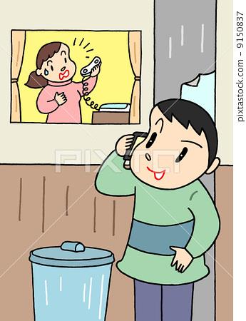stalking behavior, stalker, lady 9150837