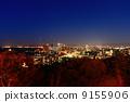 从福冈爱宕神社的夜景 9155906