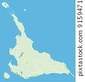 미야코 섬, 미야코지마, 지도 9159471