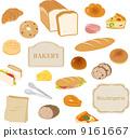 矢量 面包 白底 9161667