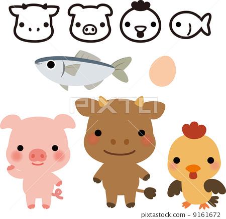 牛豬雞魚 9161672