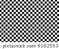 圓角格紋圖案(黑色) 9162553