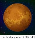 Planet Venus in space 9189643