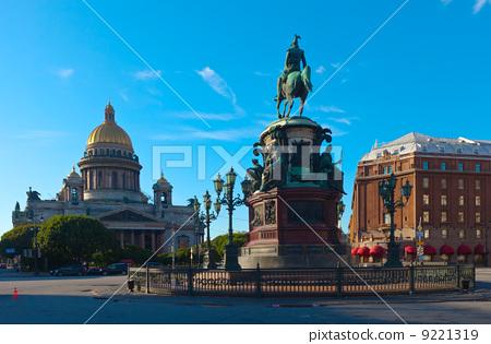 Monument to Nicholas I in Saint Petersburg, Russia 9221319