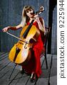 cello, violoncello, woman 9225944