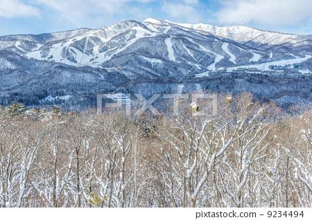 冬天的山地高原 9234494