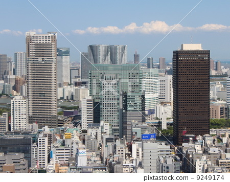 The streets of Tokyo 9249174