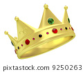 king gold isolated 9250263