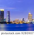 skyline, thailand, cityscape 9280907