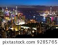 night view of Hong Kong 9285765