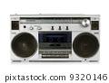 Portable vintage radio cassette recorder 9320146