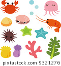 vector, vectors, starfishes 9321276