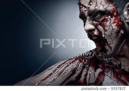 Bleeding scars. 9337827
