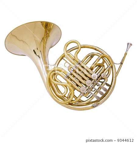 Gold French Horn  9344612