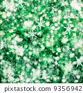 Green christmas  background 9356942