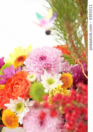 the new year, flower arrangement, flower arrangements - Stock ...