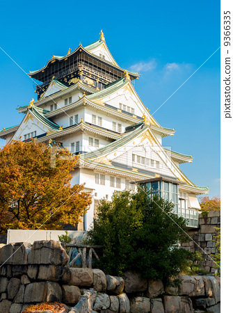 Osaka castle Japan 9366335