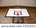 Basketball Hoop from Below 9392862