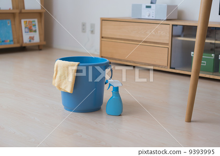 Stock Photo: dustcloth, house cleaning, cleaning up