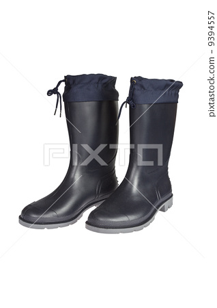 Rubber Boots isolated 9394557