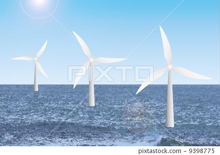 Offshore wind power generation 9398775