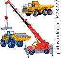 移動車輛 服務車 拖拉機 9423222