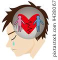 divorce, broken, heart 9438067